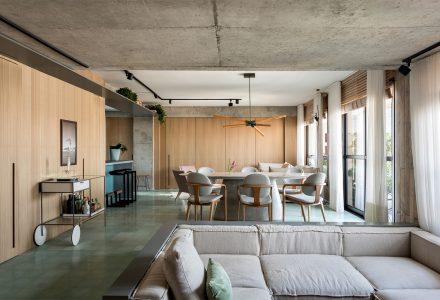 圣保罗GM Apartment两居室公寓设计