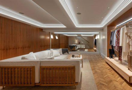 伦敦·Gabriela Hearst奢侈品精品店 / Foster + Partners