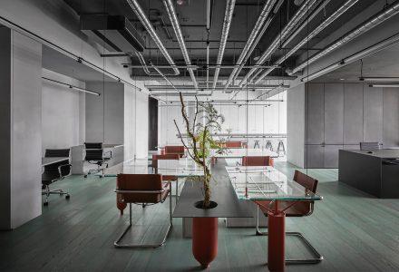 """台湾""""Ideal Gas Lab理想气体实验室""""办公室设计"""