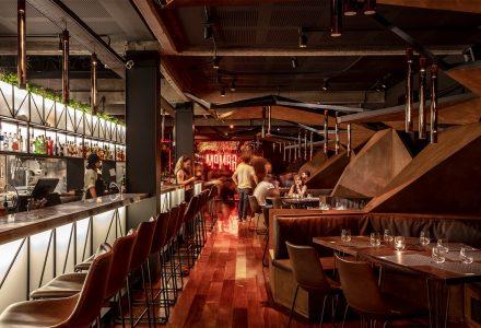 阿根廷布宜诺斯艾利斯·Mamba工业风酒吧餐厅