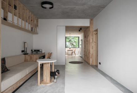 重庆71平米旧公寓改造设计 / XUE JIN DESIGN
