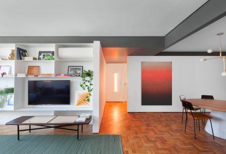 巴西圣保罗·GA Apartment旧公寓改造设计