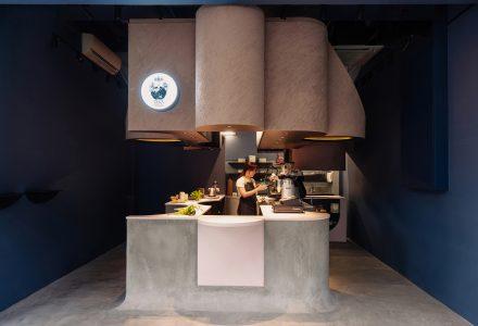 新加坡·Voids Cafe小型咖啡店设计