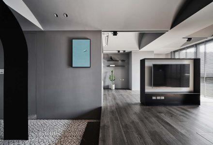 """台湾""""头·层-之间""""顶层公寓 / Degree Design"""