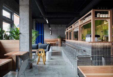 """冰岛·""""Yuzu柚子""""日式汉堡餐厅设计"""