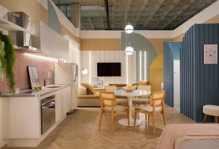 巴西里约热内卢·Cores糖果色公寓