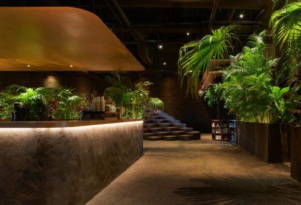 东京·GYRE.FOOD热带风多功能餐厅