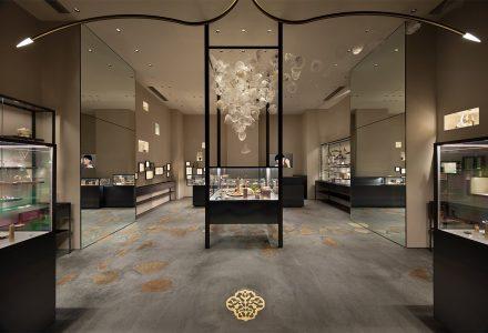 东京丸之内·Hirotaka品牌珠宝店设计