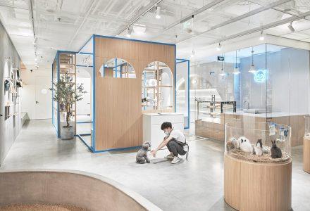 """北京·""""Noblepets诺宝派""""宠物店升级改造设计"""