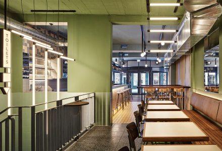 德国科隆·Otto's Burger汉堡餐厅设计