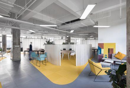 昆山X-workingspace办公空间设计