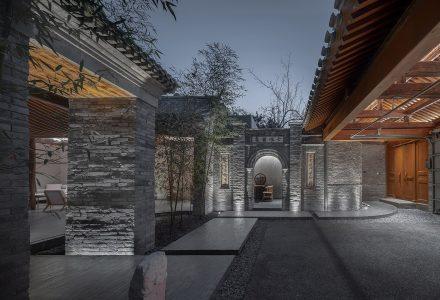 """北京""""七舍合院""""四合院改造设计 / 建筑营"""