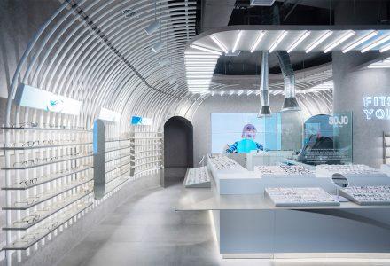 北京·AOJO Lab眼镜店设计 / 梅兰