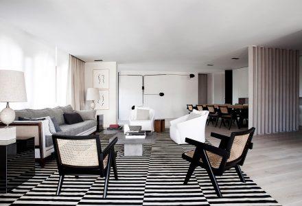 西班牙·五口之家Alcazar公寓改造设计