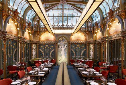巴黎·新艺术风格Beefbar Paris奢华西餐厅