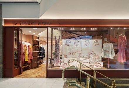 巴西·Le Soleil de' été女装专卖店设计
