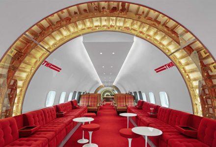 纽约·肯尼迪机场TWA酒店的鸡尾酒酒吧