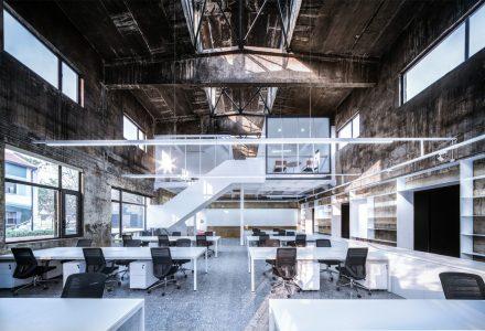 武汉厂房改造的UAO瑞拓设计新办公室