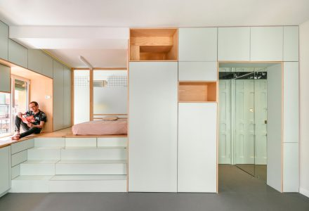 33.6m²小型公寓-四次元口袋屋Yojigen Poketto