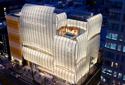 """日本大阪·""""LV路易威登""""御堂筋旗舰店 / Jun Aoki&Associates"""