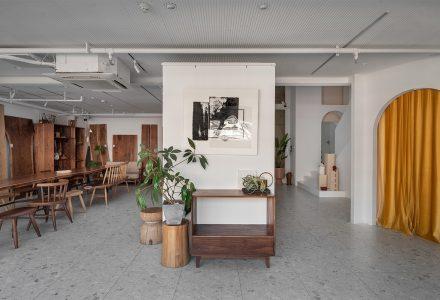 绘生活软装设计工作室办公空间 / 林俊生设计事务所