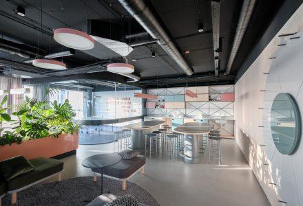 塞尔维亚·Catena Media游戏公司办公室设计