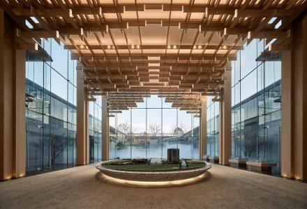 """南京·""""锦麟融誉府""""售楼中心设计"""