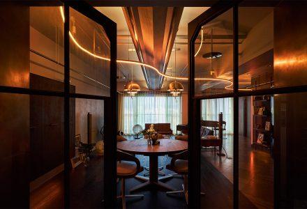 """台湾·""""金棕时寓""""精品公寓设计"""