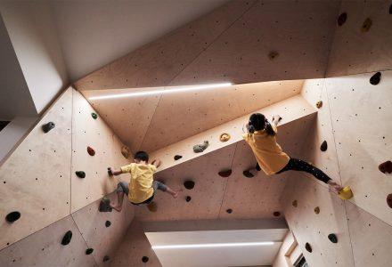 台北20年老屋改造32平米亲子住宅-Hide&Climb