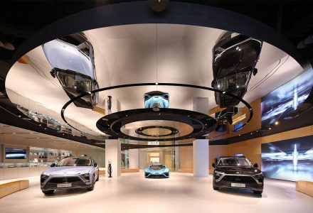 上海·蔚来汽车用户体验中心(NIO House)
