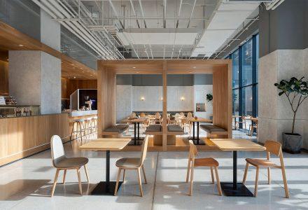 """北京·""""易间""""咖啡简餐店(网易园区店) / 古鲁奇"""