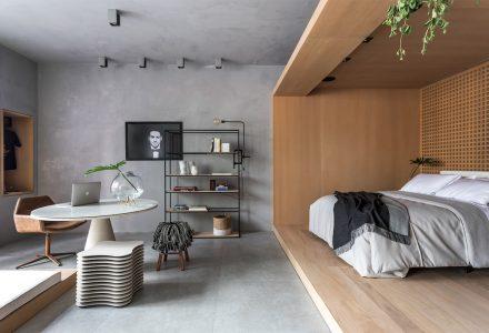 巴西·现代简约风阁楼设计