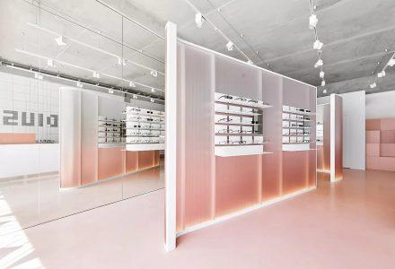 俄罗斯圣彼得堡·Radius 58网红风眼镜店设计