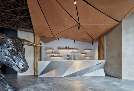 捷克·STK牛排西餐厅设计