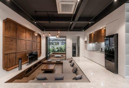 """越南""""陈家""""传统越南建筑风格别墅设计"""