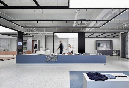 """上海·""""圣东尼""""材料体验中心设计"""