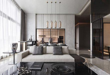 杭州·星耀中心大平层住宅空间设计