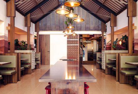 """布鲁塞尔·""""芹苴""""越南主题餐厅设计"""