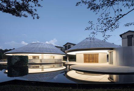 """广东惠州·""""浮山云舍""""展示中心设计"""