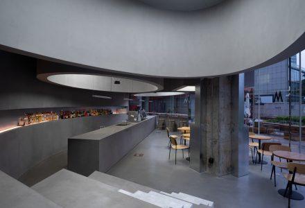 """上海·""""M Stand""""咖啡厅静安寺店 / 拙讷建筑设计"""