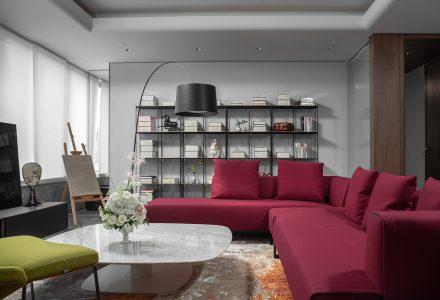 """北京·""""城市上空的隐秘庭院""""私宅空间设计"""