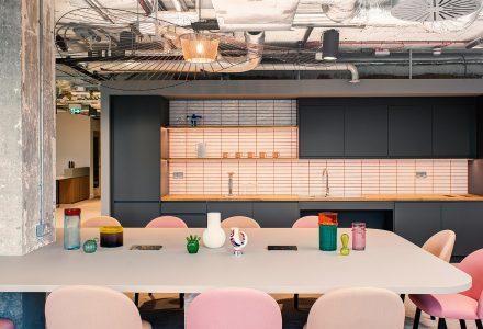 """伦敦·""""British Land地产公司""""办公空间设计 / Nex"""