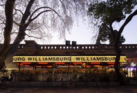 """阿根廷·""""Williamsburg餐厅""""户外用餐空间设计"""