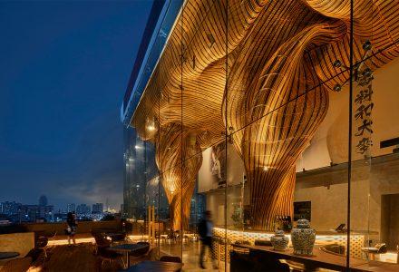 曼谷·SPICE & BARLEY餐厅设计