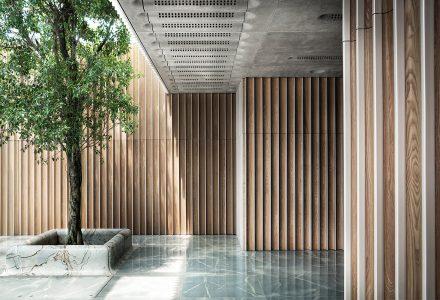 """香港·""""港丰发展""""总部办公空间设计 / 设计集人"""