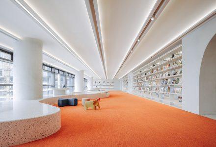 "广州·""朝彻书屋""图书馆设计 / Wutopia Lab"