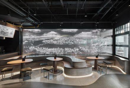 """上海·""""粉家螺蛳粉""""主题餐厅设计"""