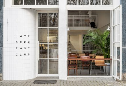 乌克兰·Late breakfast club早午餐餐厅设计