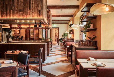 伦敦·KOL餐厅设计 / A-nrd studio