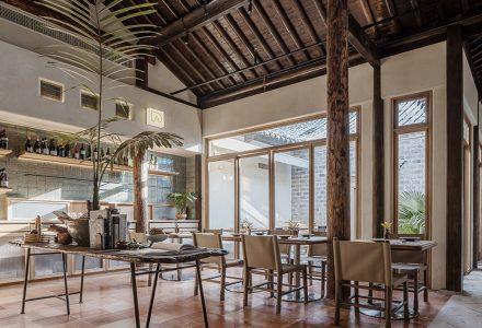 南京·Pine&Dine西餐厅设计 / 拿云设计